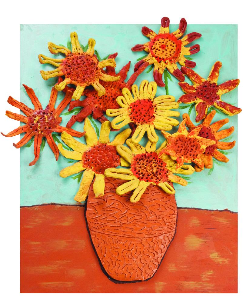 Van Gogh S Sunflowers Zartart