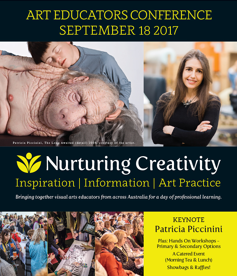 Art Educators Nurturing Creativity Conference September 17 2017. Keynote Speaker Particia Piccinini