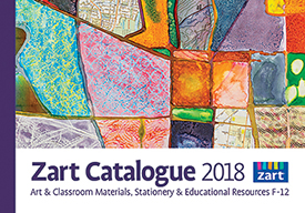 Zart Catalogue 2018 - Art and Classroom resources, Stationery & Educational Resources F-12